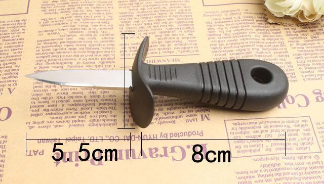 Différent types d'outils pour manger des huitres premier partie
