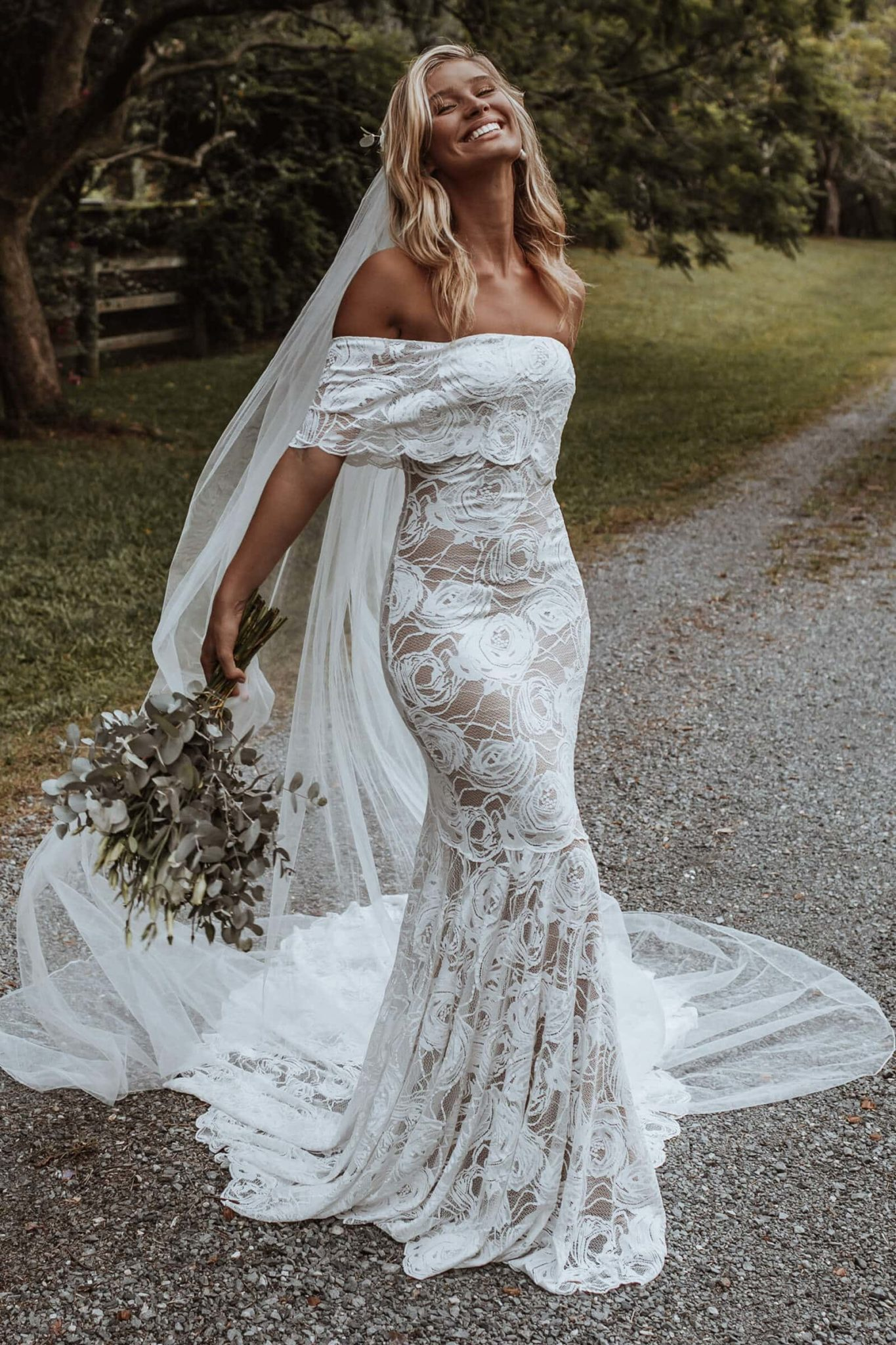 Le voile fait la mariée
